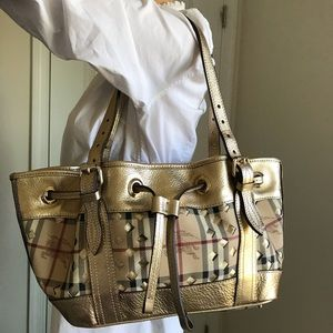 Euc Burberry limited edition tote